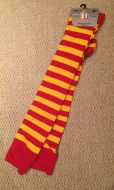 Socks - Red and Yellow Stripe
